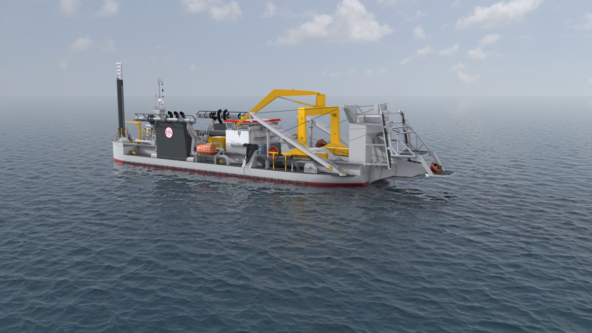 Siebenhaar delivers winches for the largest Cutter Suction Dredger